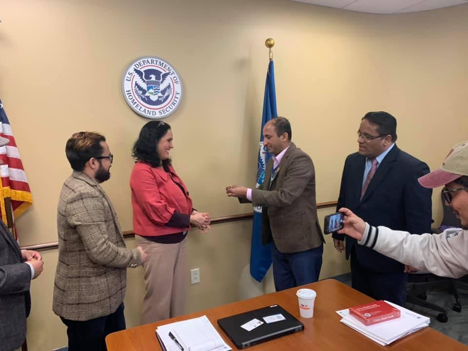BANA र U.S. Citizenship and Immigration Services- USCIS बीच परिचयात्मक कार्यक्रम