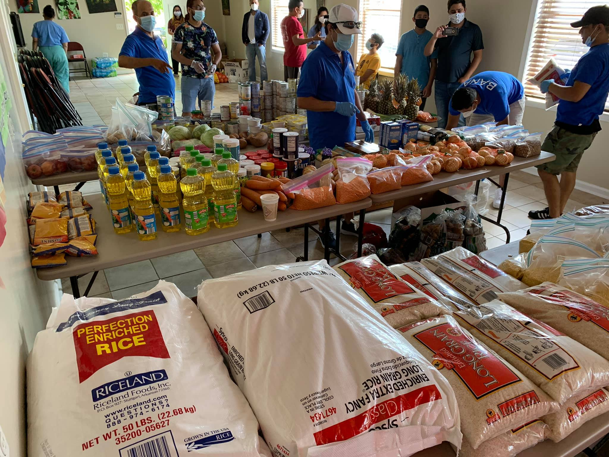 BANA distributed Groceries to peoples in need – May 25 2020